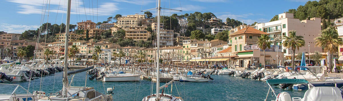 Hafen in Port de Sóller