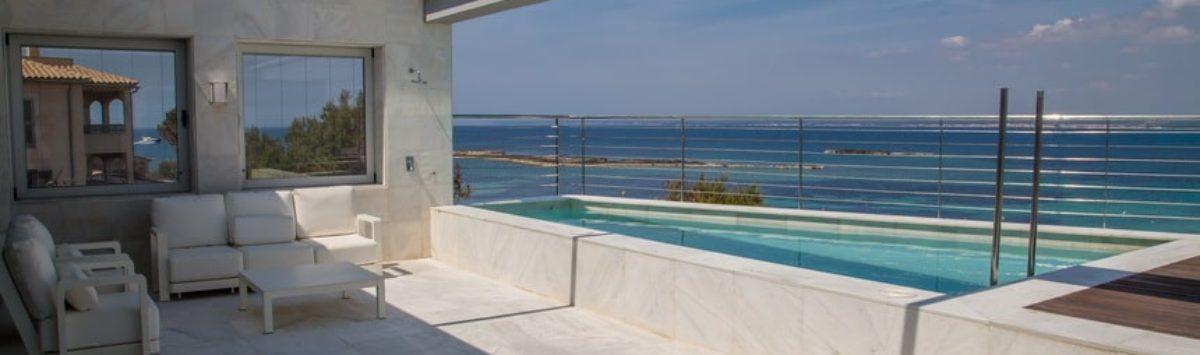 Bild zum Objekt: Vermietung: Atico m. Pool in 1. Linie, Colonia Sant Jordi