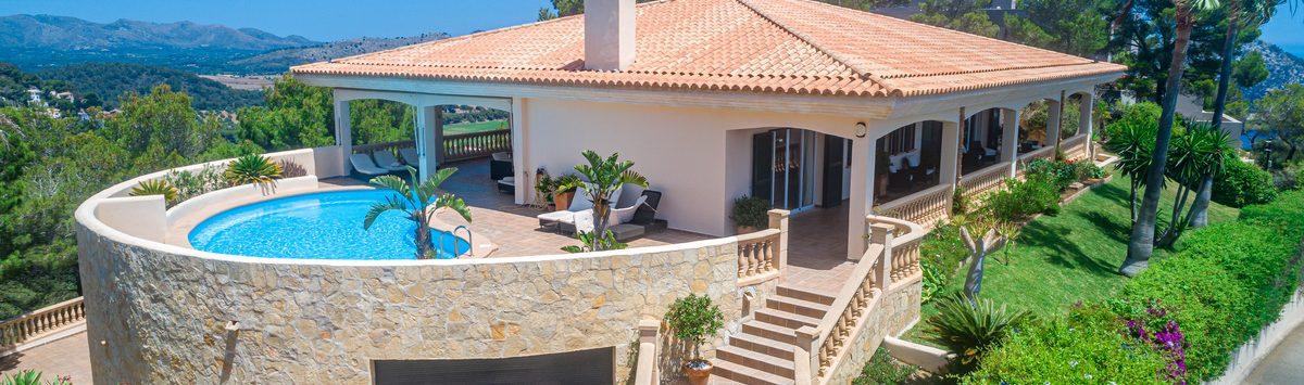 Bild zum Objekt: 485m² Villa mit Marmorböden, Einliegerwohnung & Salzwasserpool