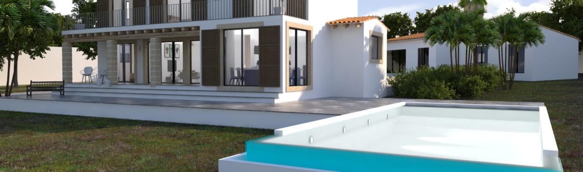 Bild zum Objekt: Baubeginn sofort möglich: 348m² Haus mit Poollandschaft uvm.