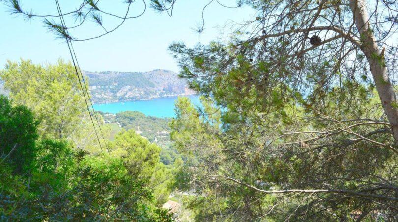 Blick auf die Bucht von Canyamel