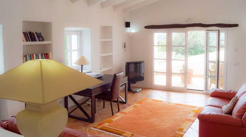 Offener Wohn-/Arbeitsraum im Obergeschoss