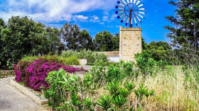 Restaurierte Mühle