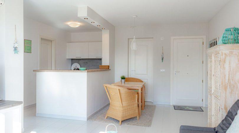 Wohnbereich verbunden mit Küche
