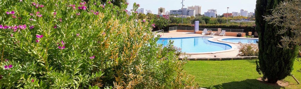 Bild zum Objekt: EG-Wohnung zum Verkauf: 2 SZ, 2 Bäder, Terrasse & 3 G.-Pools