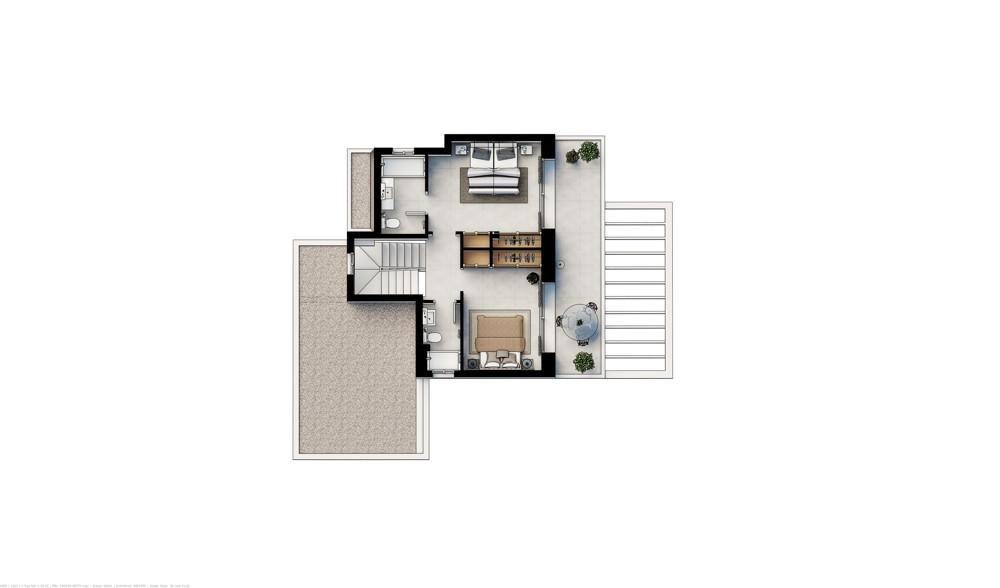 Plan3_Las Villas de Dalt de Sa Rapita_Planta Baja