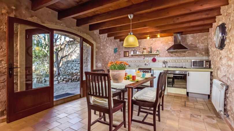 Küche in Haus 1