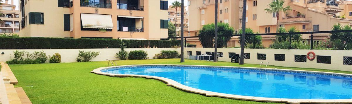 Bild zum Objekt: 130m² Wohnung zu verkaufen: 3 SZ, 2 Bäder, Balkon & G.-Pool