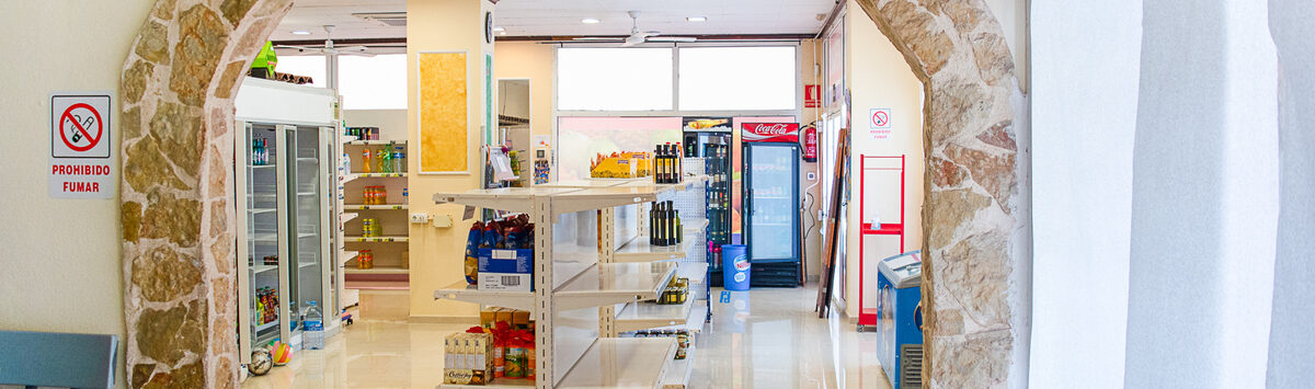 Bild zum Objekt: Gepflegter Supermarkt inkl. Bar mit Terrasse zum Verkauf