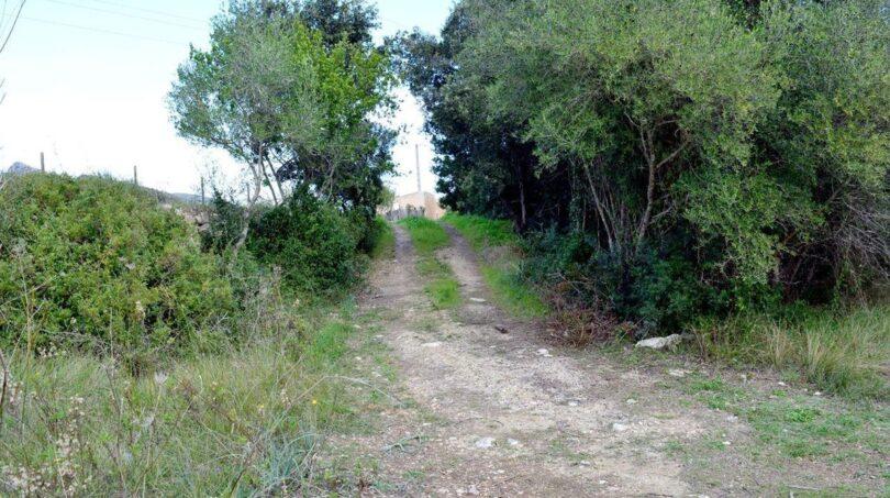 Zugang zum Grundstück
