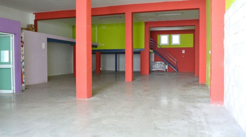 Halle: Erdgeschoss