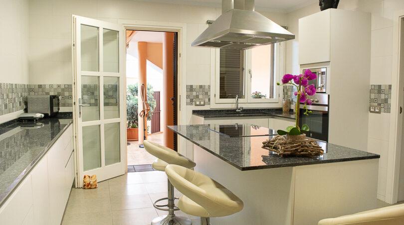Elegante Küche...