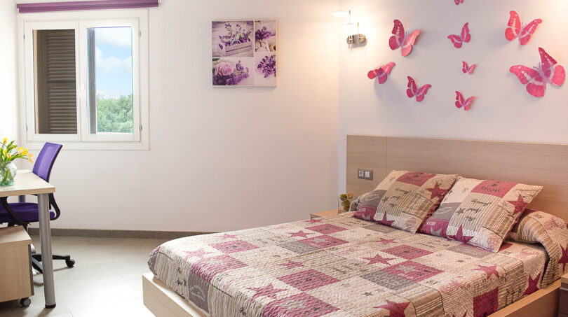 Doppelschlafzimmer im EG...