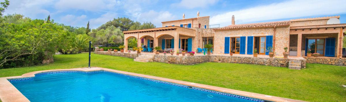 Bild zum Objekt: Finca mit 4 SZ, Pool, Gäste-Apartment & V.-Lizenz zu kaufen