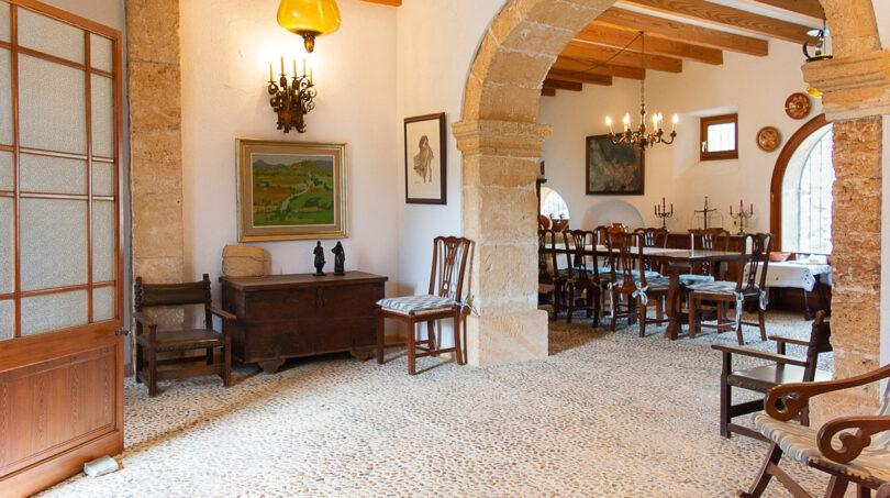 Eingangsbereich im Haupthaus