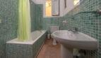 Badezimmer im Retro-Stil
