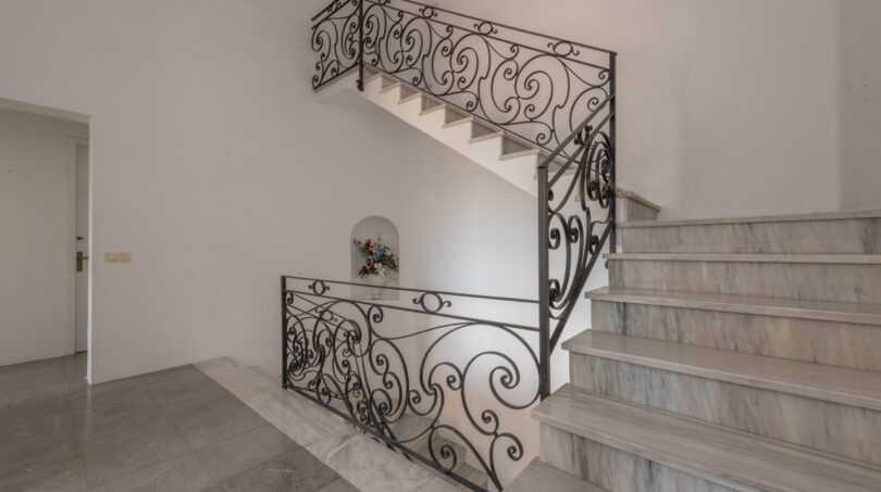 Treppe zum Turmzimmer